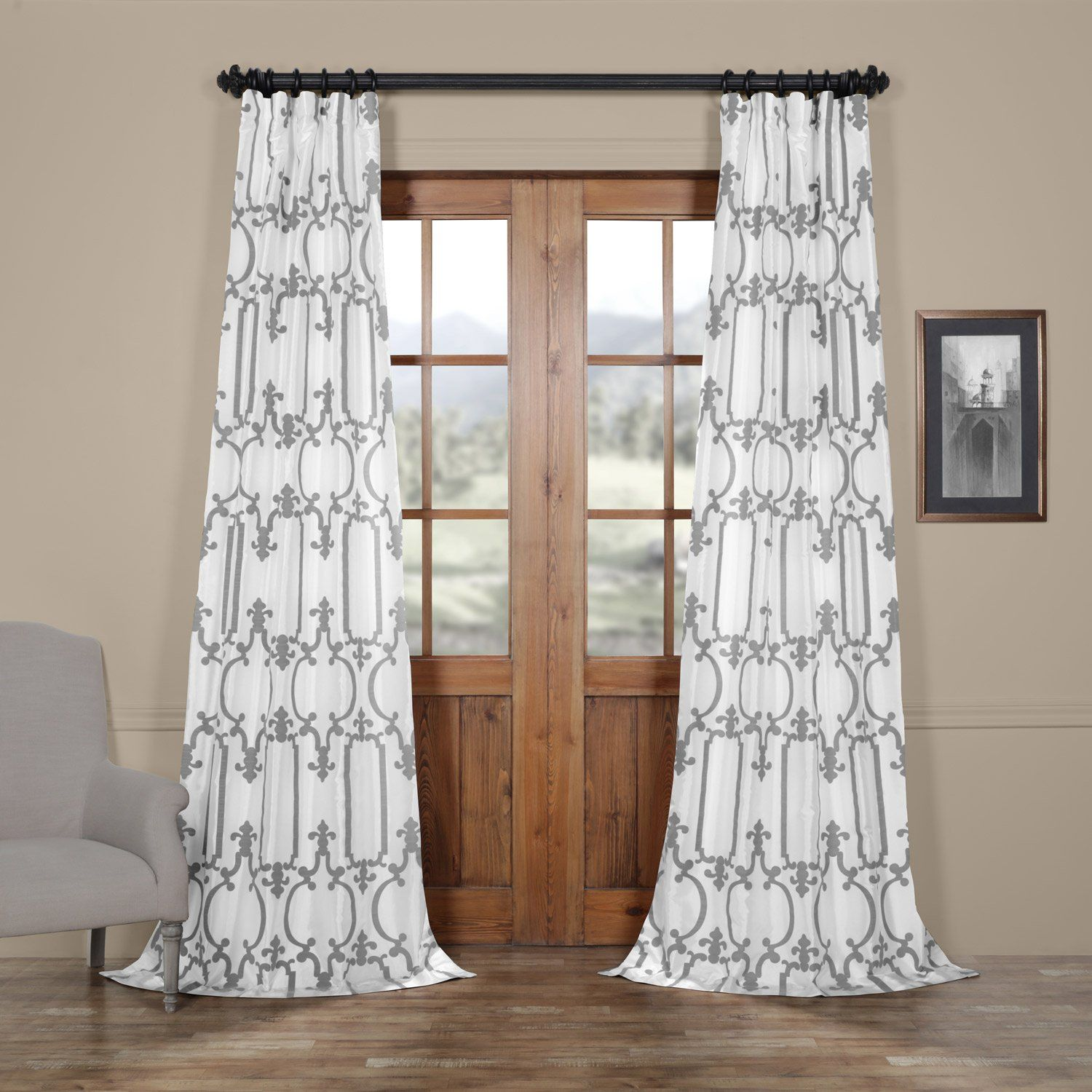 stanton silk grommet click x faux drapes p expand curtain to panels panel