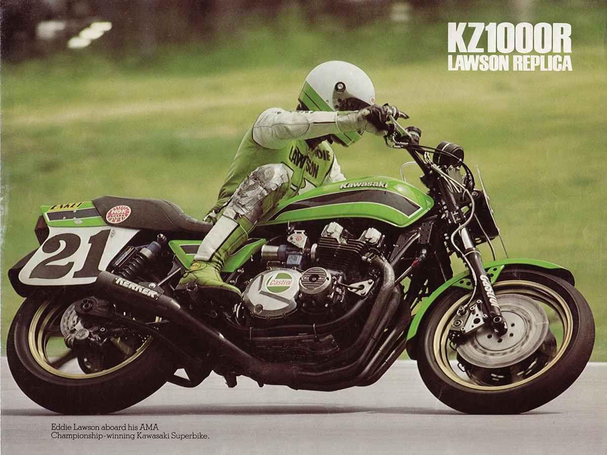 THE EDDIE LAWSON REPLICA 1982 KAWASAKI KZ1000R