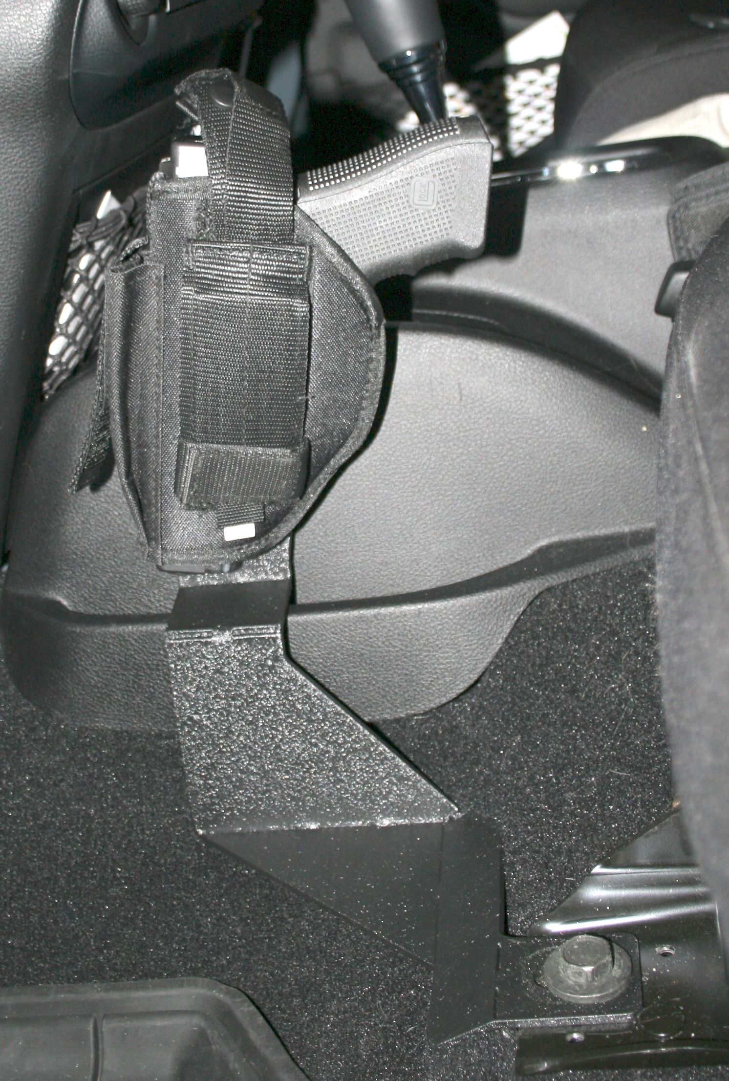 Condition Zero Pistol Mount For Jeep Wrangler Gear Review With