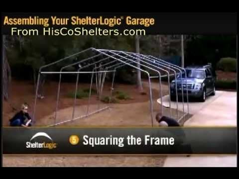 Portable Garage Assembly Instructions The Easiest And Cheapest On
