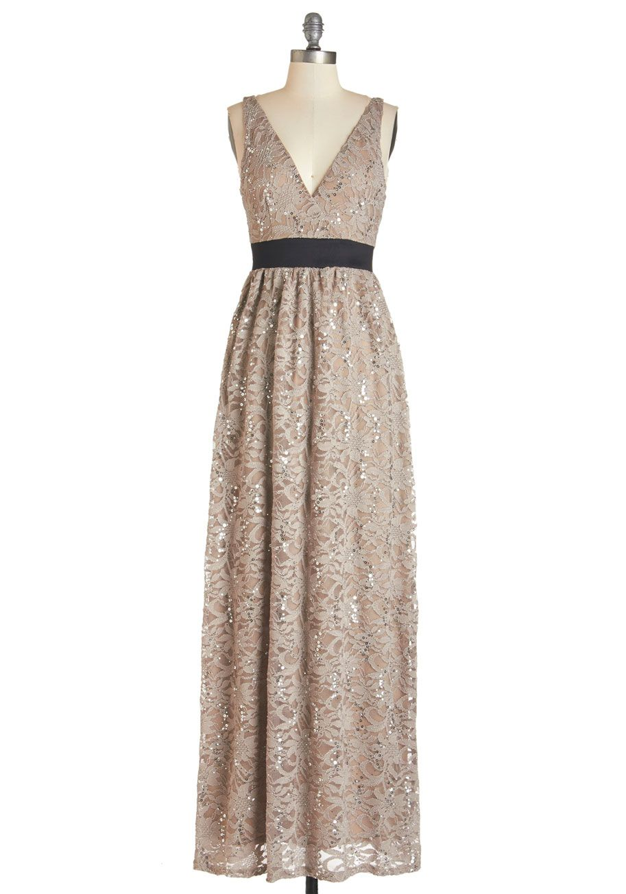 Next taupe model dress modcloth my style haves want and bridesmaid dress next taupe model dress when the fashion show comes to a close you continue to dazzle afterparty guests in this lovely taupe gown ombrellifo Images