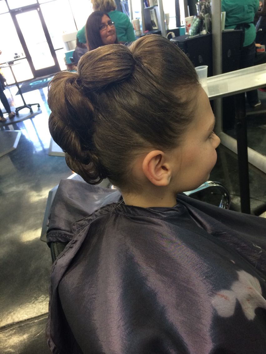 sassy updo, i did this for a client who had a dance competition