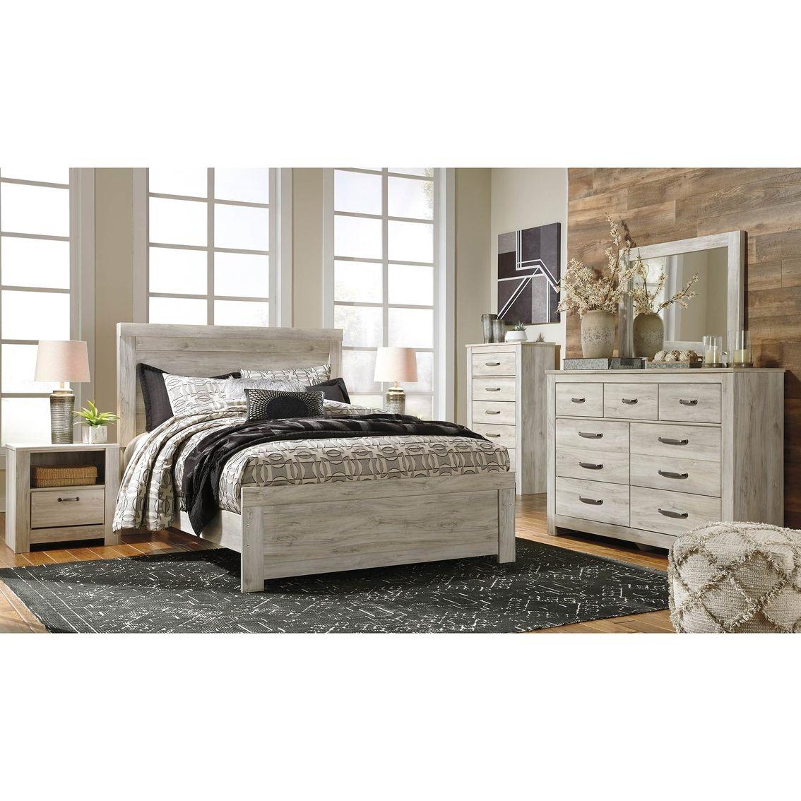 Signature Design By Ashley Bellaby 5 Pc Panel Bed Set Bedroom Sets Home Appliances Shop The Exchange Furniture Bedroom Set Queen Panel Beds