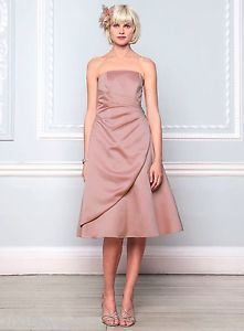 BHS Bridesmaid Dress Eve Purple Dusky Pink Pistachio Ivory Champagne Lavender