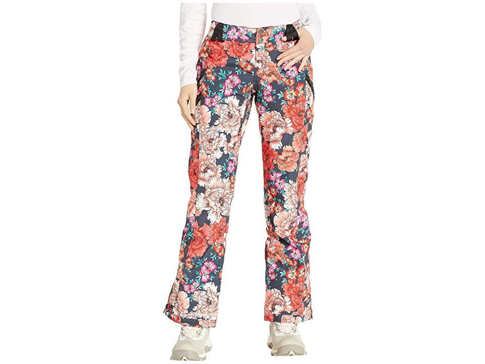 Obermeyer Harlow Pants Pinks In Posy Womens Casual Pants Performance and style rolled into one durable and comfy pair of ski pants that are perfect for long days on the s...