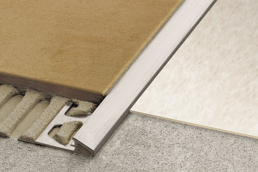 Schluter Sup Class Regsign Reg Sup Reno U Tile To Wood Transition Transition Strips Transition Flooring