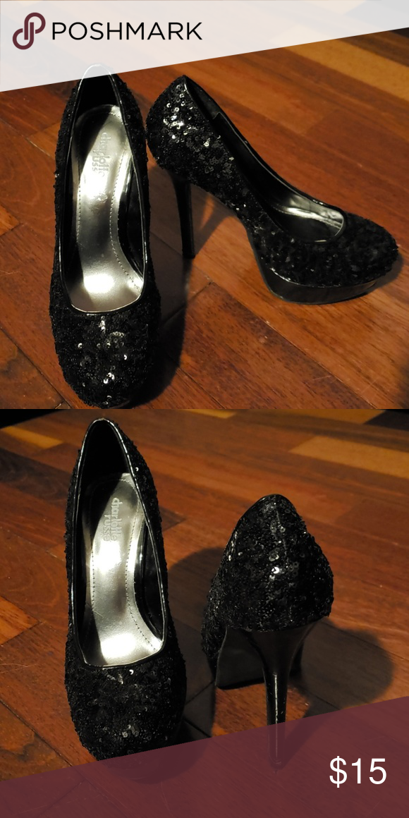 ded1e413a9d4 Charlotte Russe Size 7 Sequence Heels Charlotte Russe Size 7 Sequence  Amanda Heels Charlotte Russe Shoes Heels