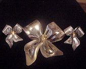 Vintage Brooch with Earrings by Tona©