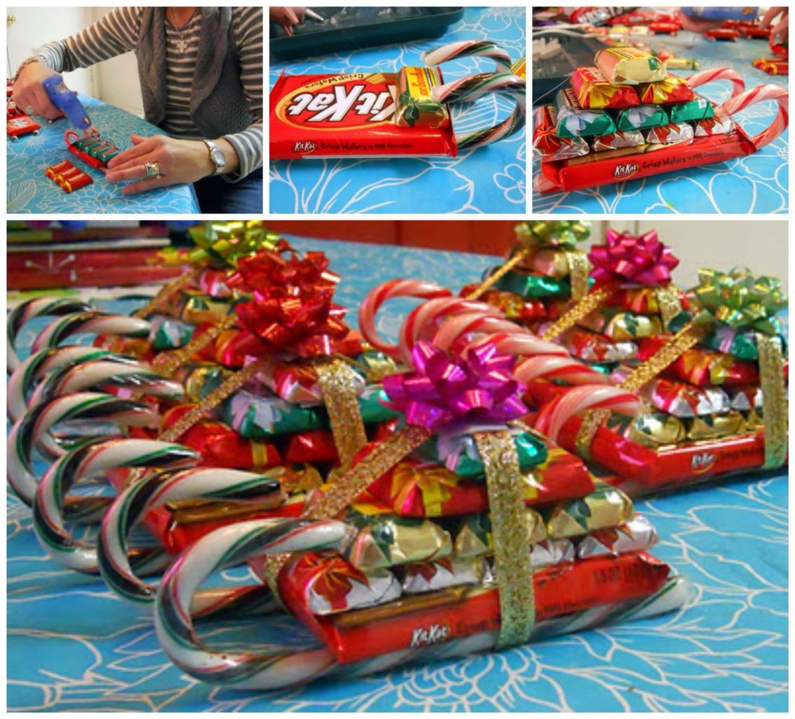 Christmas Candy Craft Ideas Part - 26: Creative Christmas Gift #creative #christmas #candy