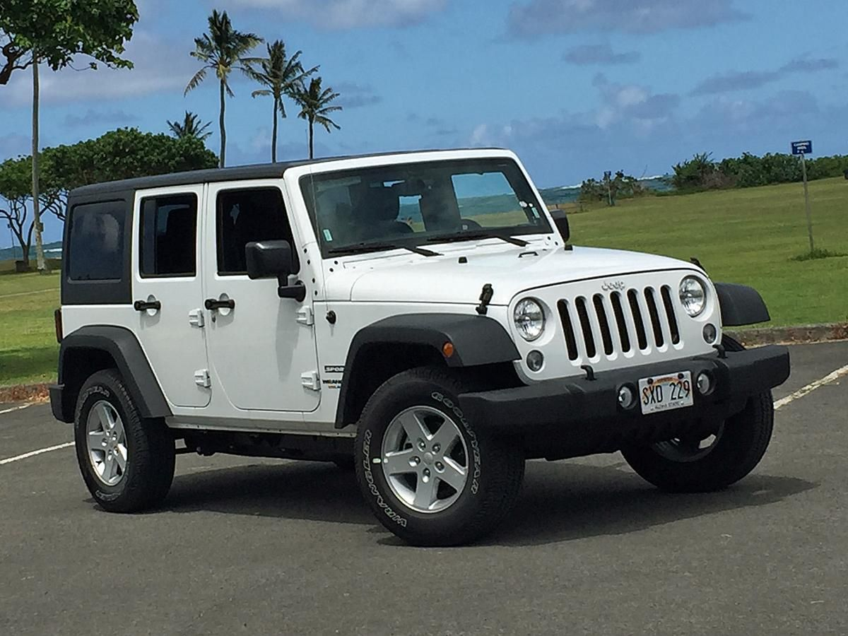 what i learned about the 2016 jeep wrangler unlimited by driving white jeep [ 1200 x 900 Pixel ]