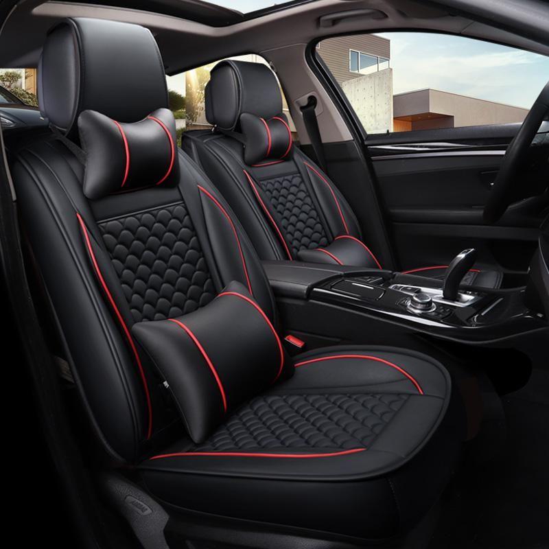 Car seat covers fit Peugeot 2008 black  leatherette full set
