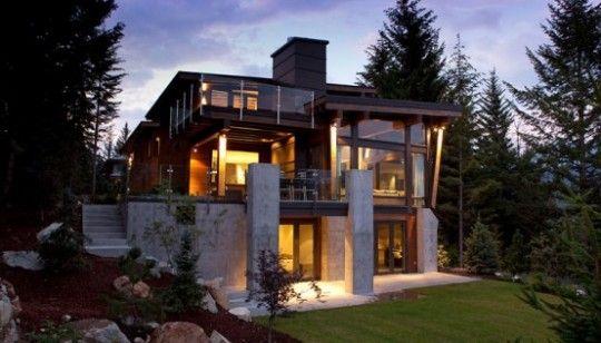 House Design 007 Luxury House Designs Rustic House Plans Modern House Plans