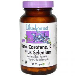 Bluebonnet Nutrition, Beta Carotene, C, E Plus Selenium, 120 VCaps