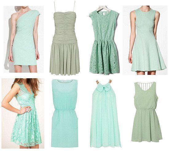 Color Mint Como Combinar Ropa De Color Verde Menta Y Mas Dresses Fashion Aqua Dress