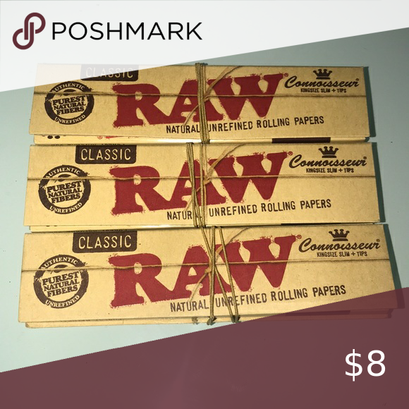 Raw Papers 6 Pack Raw Papers Rolling Paper Paper