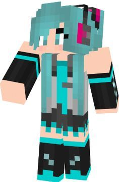 Minecraft skin cool girl find it with our new android - Cool girl skins for minecraft pe ...