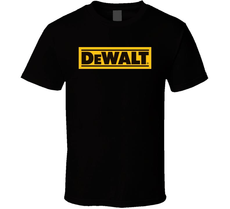 Dewalt Logo T Shirt Product4865 18 99 Dewalt Tools Dewalt Tshirt Logo