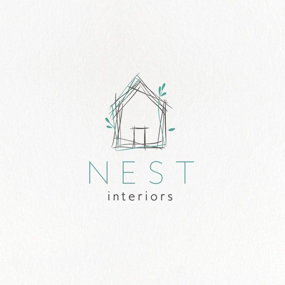 99 Best Logos For Creative Inspiration House Logo Design Design