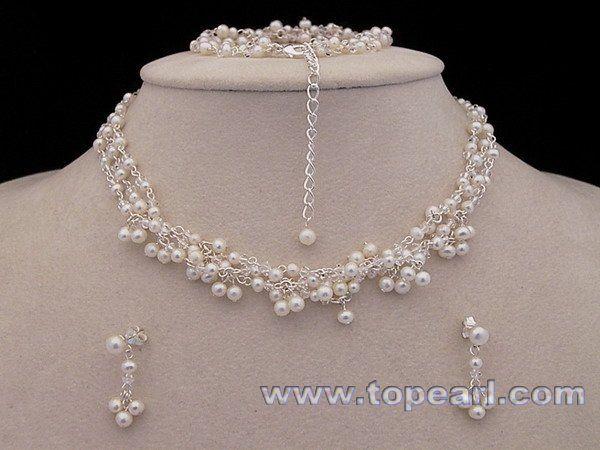 bridal jewelry Wholesale jewelrywholesale pearl jewelry at China