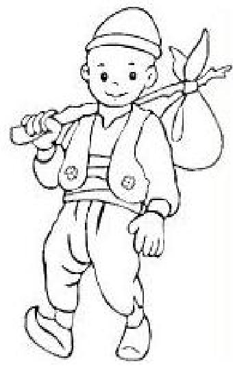 Keloğlan Boyama Okul öncesi Ve Ilkokul Boyama Preschool