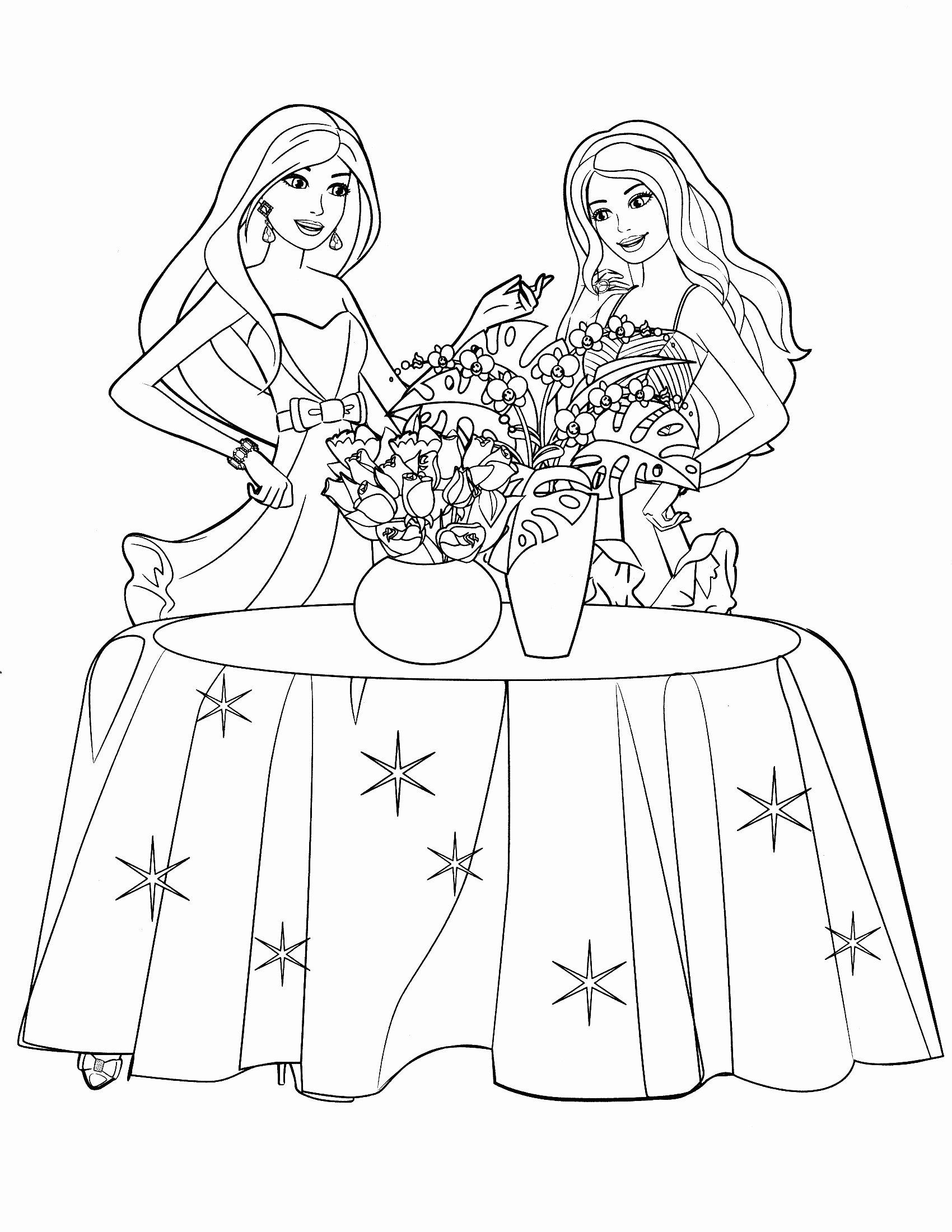Barbie Coloring Pages Free A 38 Barbie Coloring Pages Games Free Online In 2020 Barbie Coloring Pages Barbie Coloring Star Coloring Pages
