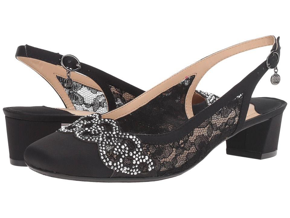 J. Renee Faleece Women's Shoes Black