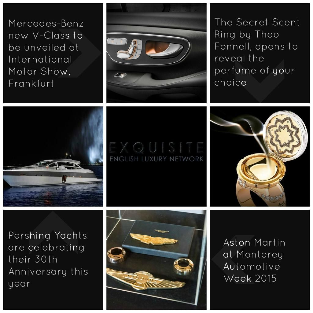 #Luxury News from #theofennell #mercedesbenz #pershingyachts #astonmartin View more luxury: http://ow.ly/Rs9Zo