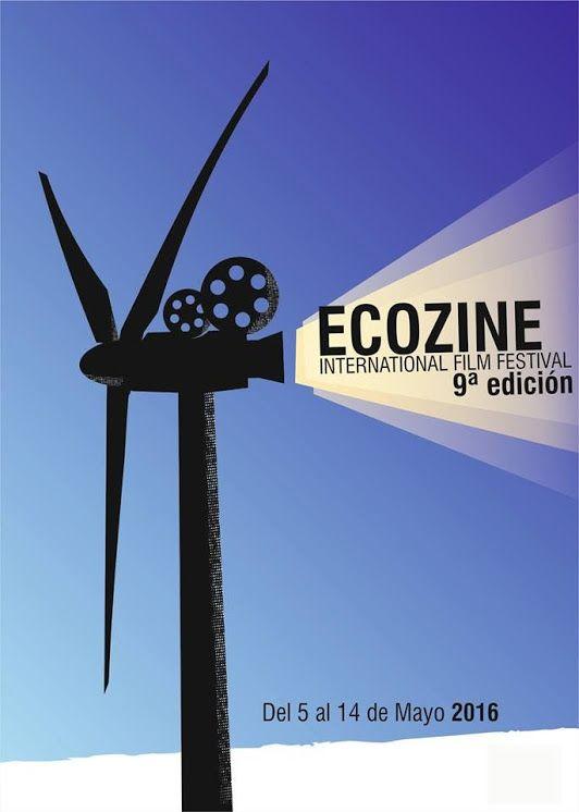Cartel 9ª edicion  Ecozine 2016 Titulo: Eolo Autor: Javier Ramirez