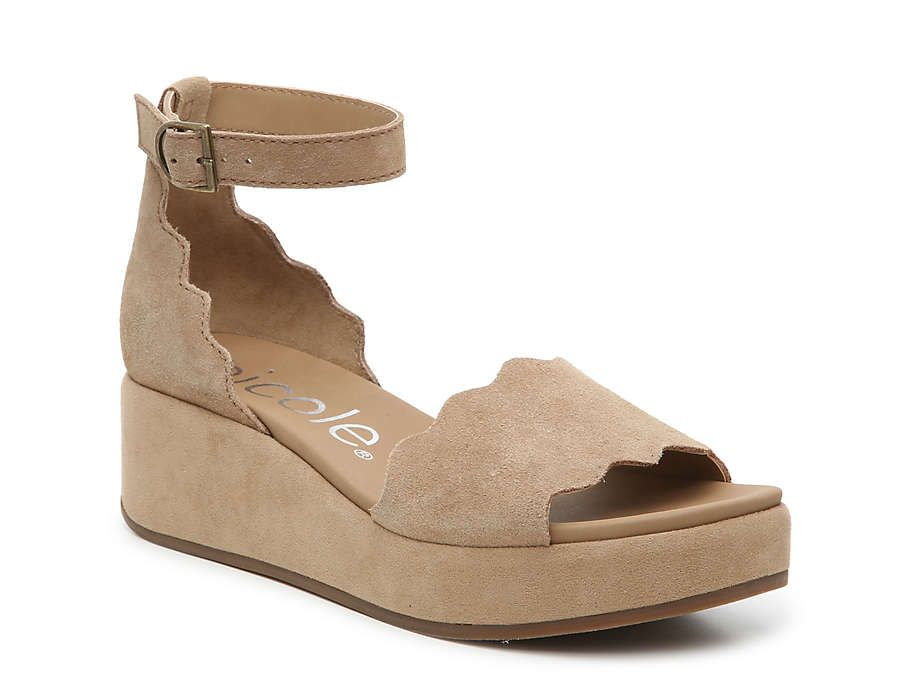 Wedge sandals, Womens summer shoes