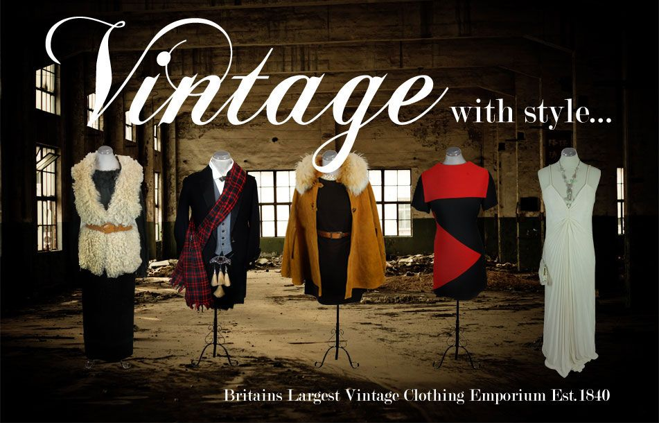 Mens Womens Vintage Clothing Armstrongs Edinburgh Vintage Outfits Vintage Clothing Stores Buy Vintage Clothing