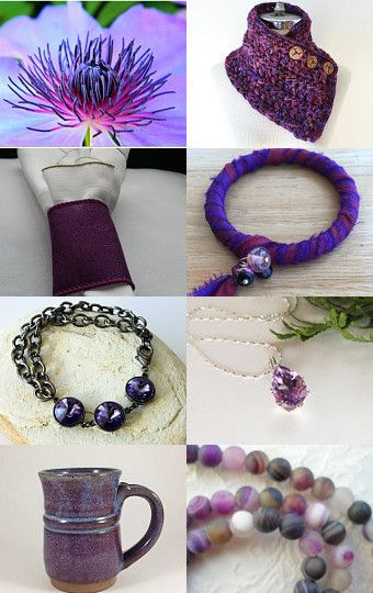 How about Purple? by Lisa Gossman-Steeves on Etsy--Pinned with TreasuryPin.com