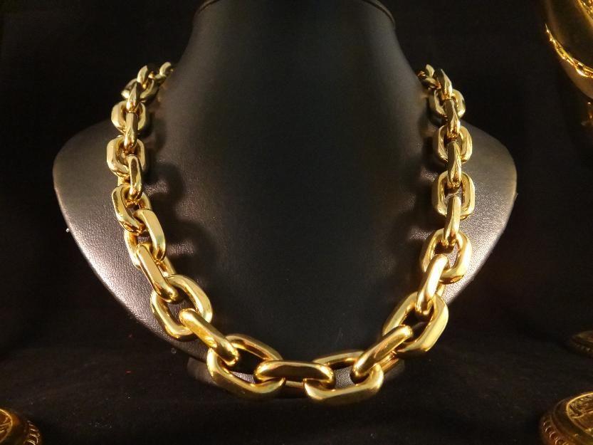 0d9a7864078 Corrente em ouro 18k 750 elos cartier com 500 gramas