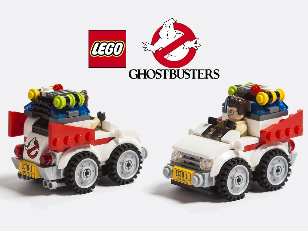 lego ghostbusters micro chibi ecto 1 fan created geek. Black Bedroom Furniture Sets. Home Design Ideas