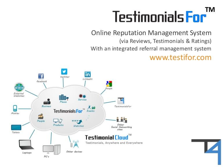 Rating and review software testimonialsfor by testifor via rating and review software testimonialsfor by testifor via slideshare ccuart Images