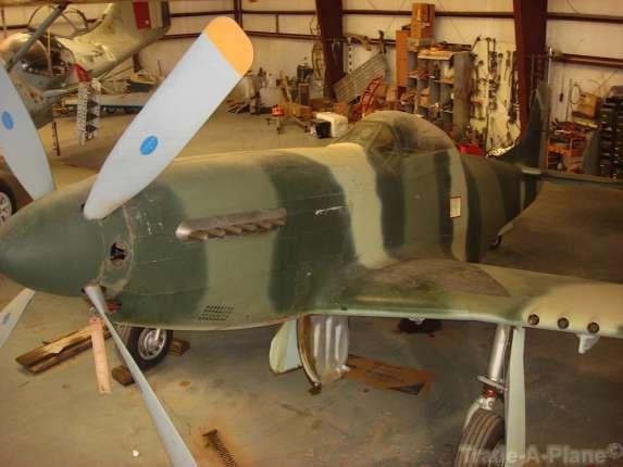 Barn Find Unrestored 1944 North American P 51D