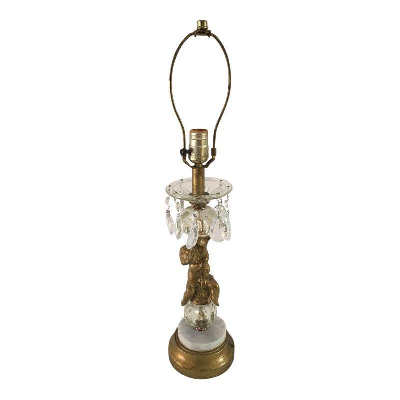 Vintage Hollywood Regency Cherub Table Lamp Lamp Table Lamp Vintage Table Lamp
