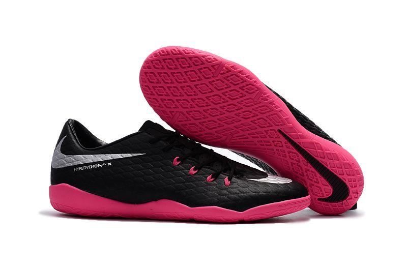 2017 Nike Hypervenom Phantom Premium III Indoor black pink soccer cleats