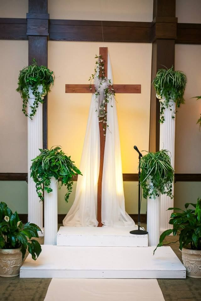 Cross Altar By Lemon Drops Weddings And Events.... Www