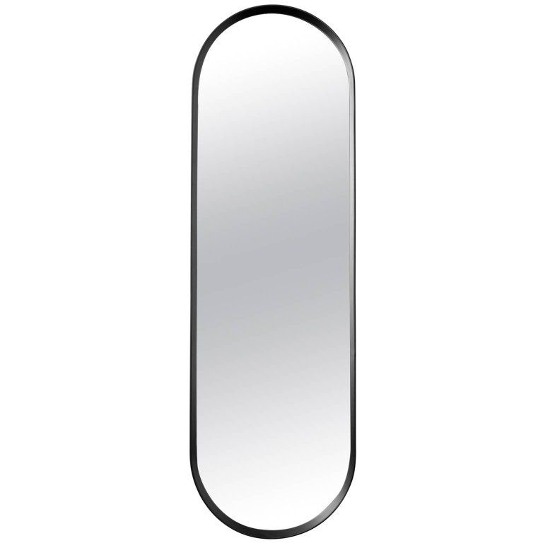 Oval Wall Mirror By Norm Architects In Black Frame Oval Wall