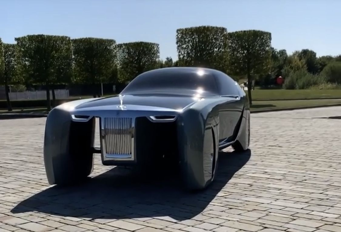 Rolls-Royce Motor Cars Vision 103EX from the year 2035