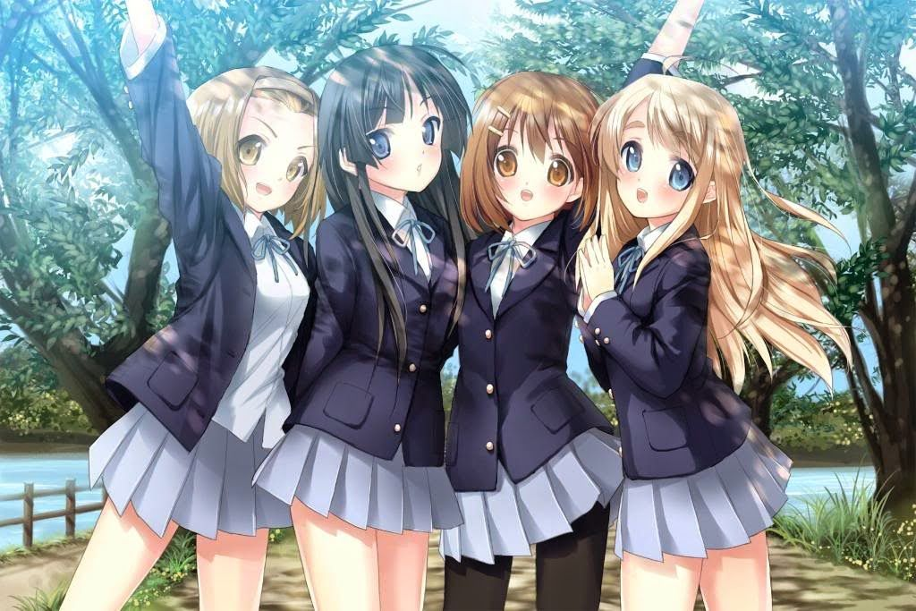 4 Best Friends Anime Anime best friends forever hd Gadis