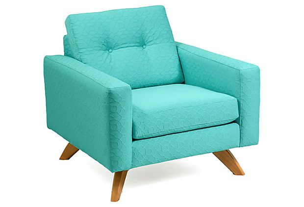 Best Sarah Chair Teal On Onekingslane Com With Images 400 x 300