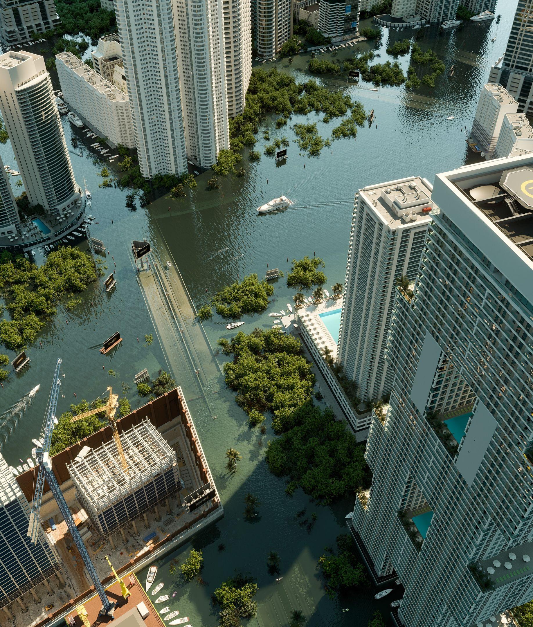 Новости Future city, 3d architectural visualization