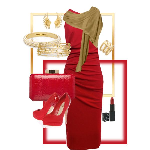 """""""RED hot!"""" by tezza630 on Polyvore  ROYGBIV Collection - 01.27.2013"""