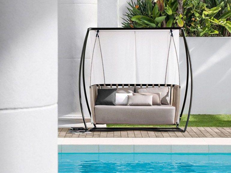 SWING Balancelle de jardin by Ethimo design Patrick Norguet ...