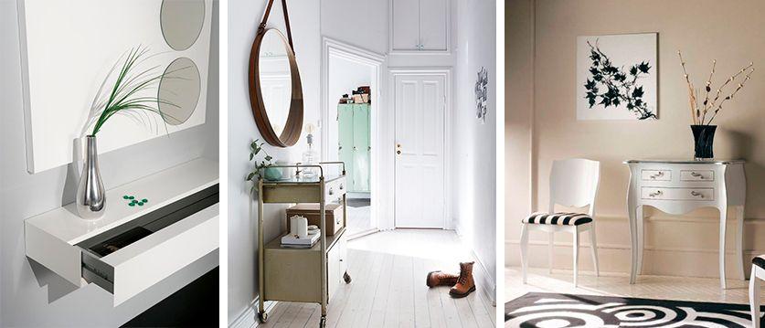 Ltimas tendencias y decoracion en recibidores para el for Ultimas tendencias en decoracion de apartamentos