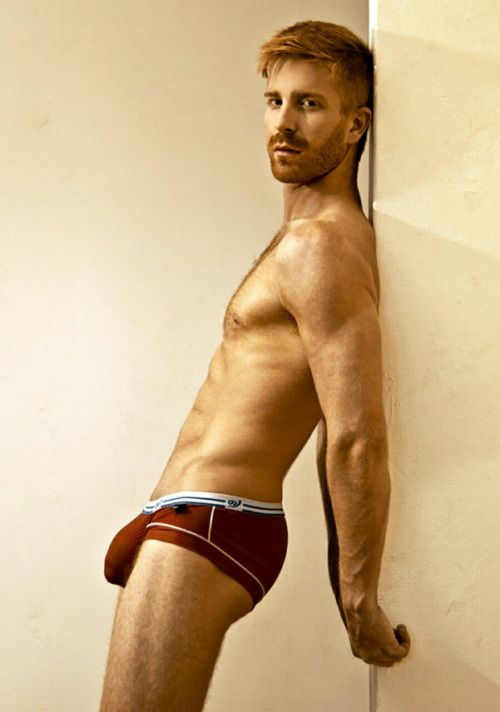Panty hairy redhead
