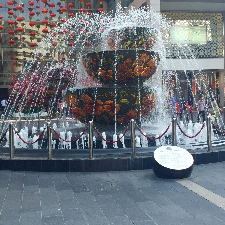 Favourite shopping centre Pavilion KL