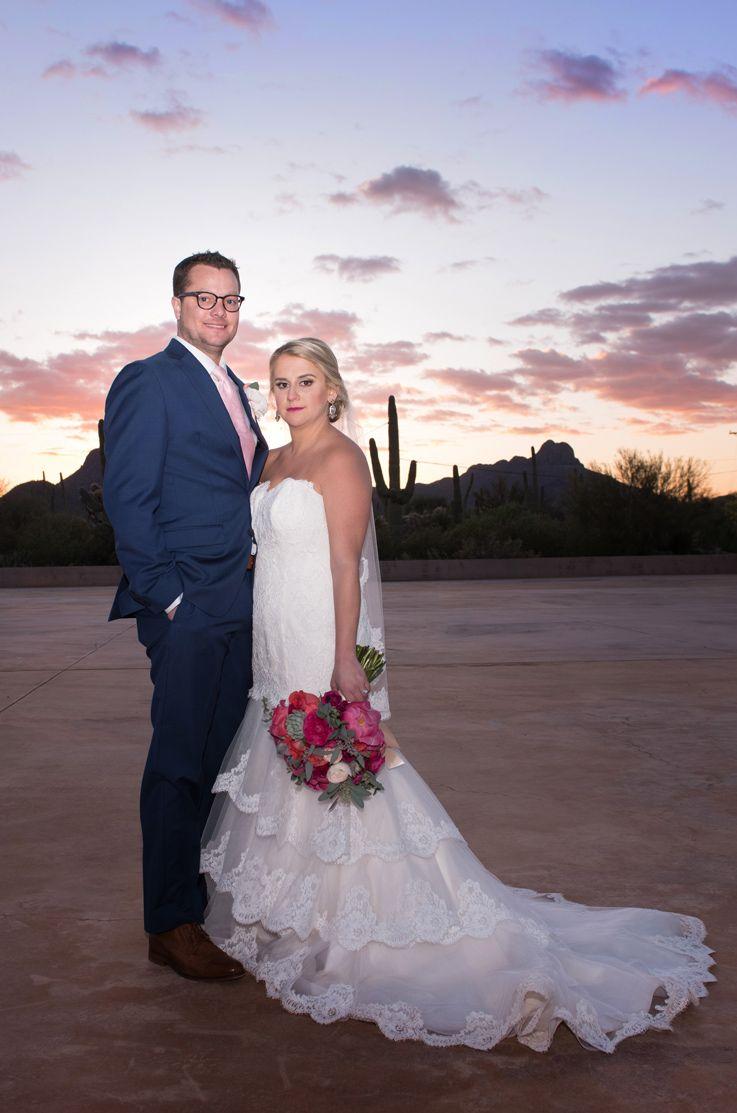 real bride tucson, arizona - justine & brendan   bride by