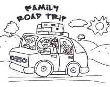road trip colouring pages Google Search road trippin